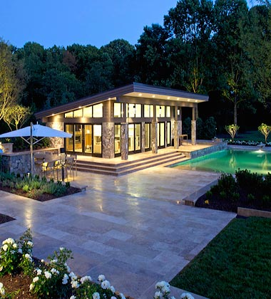 mclean great falls pergola porch pool house design. Black Bedroom Furniture Sets. Home Design Ideas